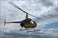 Robinson R22 training helicopter