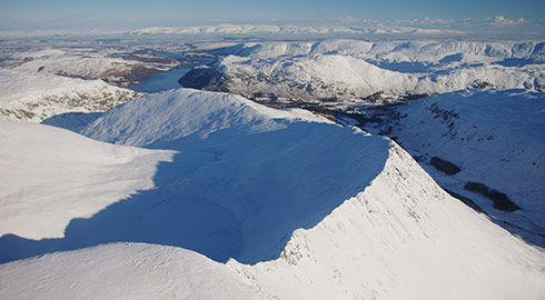 The flights take place all year round and takes in some amazingly dramatic Lakeland scenery.